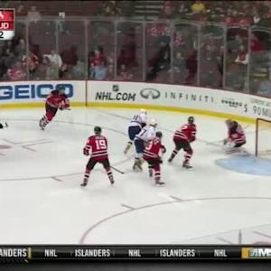 Cory Schneider Save on Eric Nystrom (00:13/2nd)