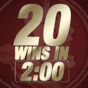 20 Florida State Wins in 2 Minutes