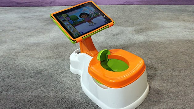 iPotty: iPad Hits Potty Training (ABC News)
