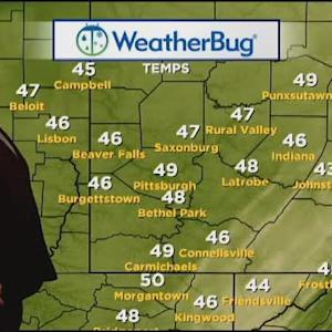 KDKA-TV Afternoon Forecast (10/22)