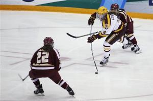 Davis scores in overtime, Gophers advance