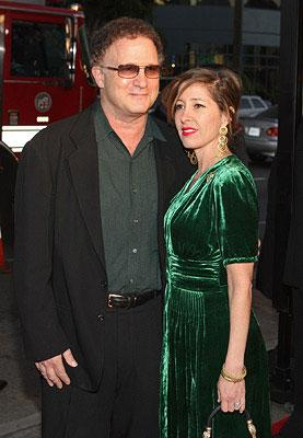 Albert Brooks and Kimberly Brooks at the Los Angeles premiere of Warner Bros. Pictures' The Bucket List