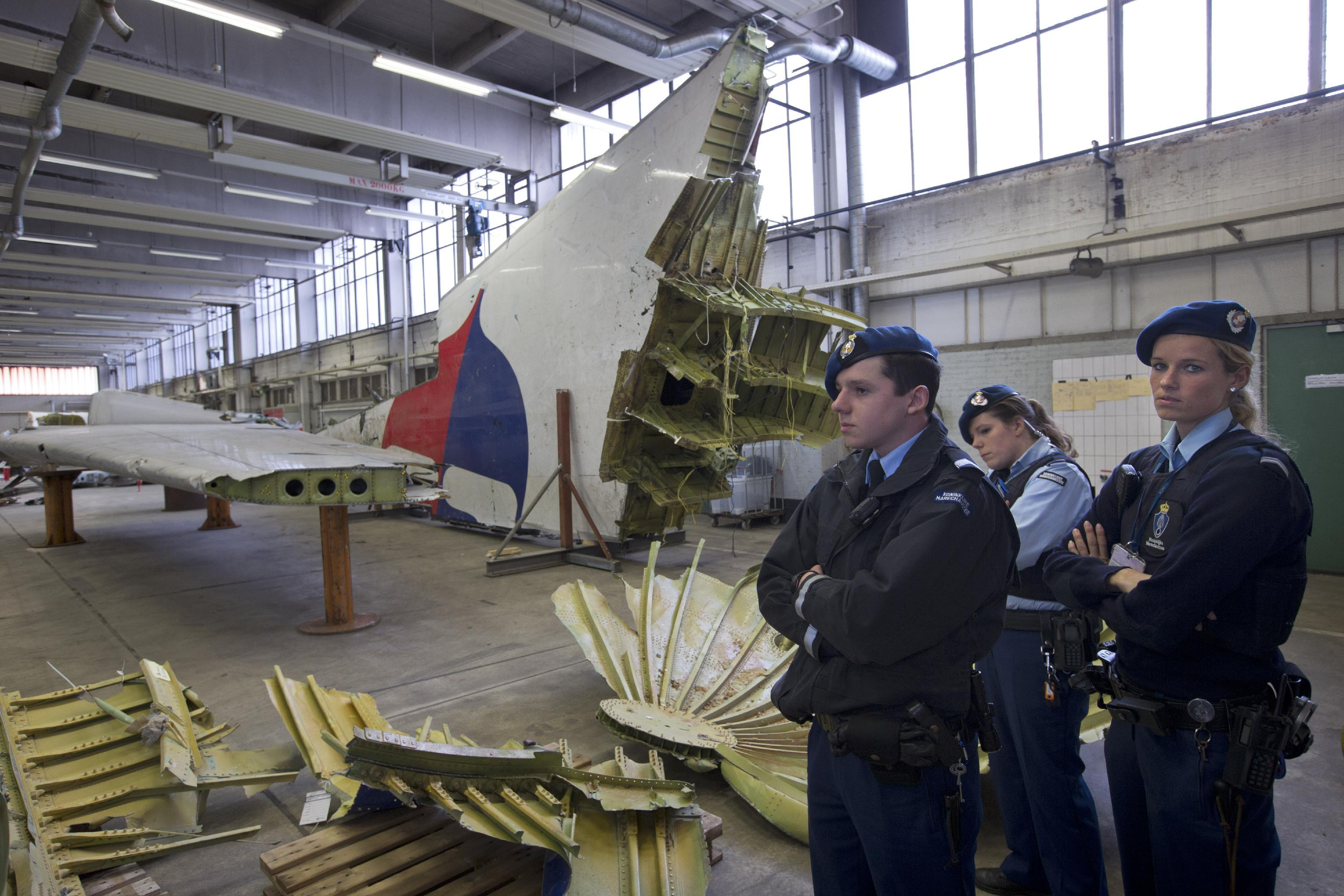 MH17 next of kin finally view wreckage of downed flight