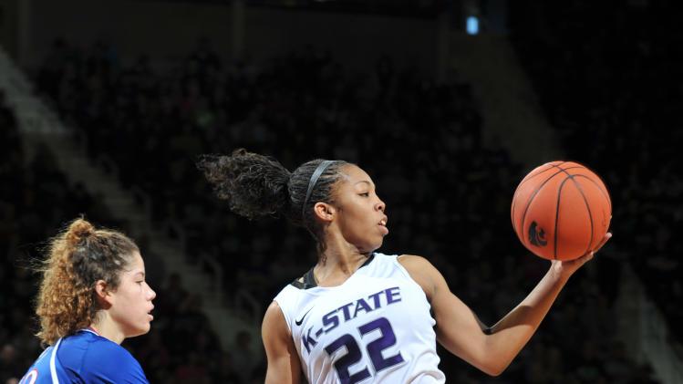 NCAA Womens Basketball: Kansas at Kansas State