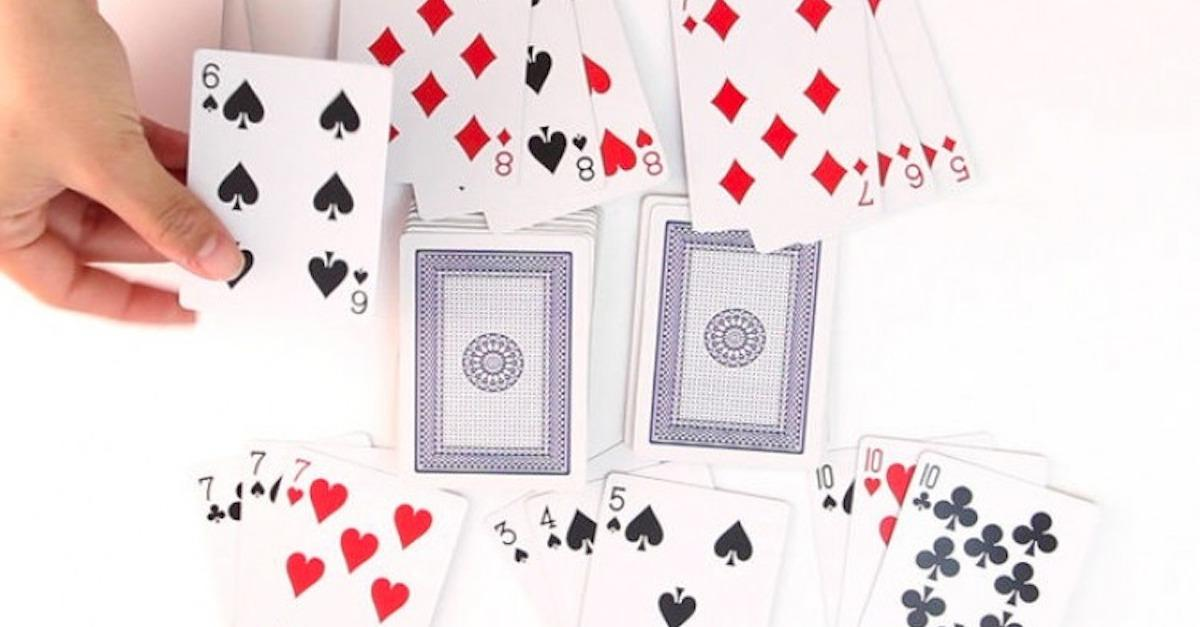 13 Games To Play With 52 Cards Or Less
