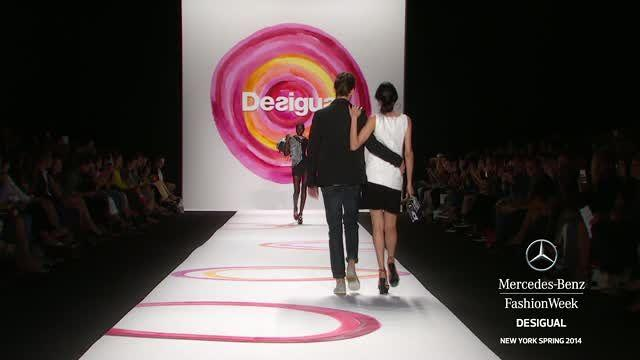 DESIGUAL: MERCEDES-BENZ FASHION WEEK SPRING 2014 COLLECTIONS