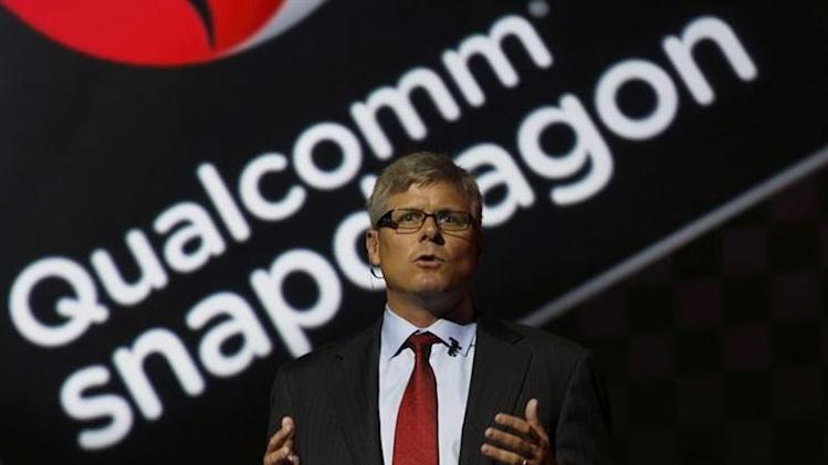 Qualcomm Chief Operating Officer Steve Mollenkopf speaks at the LG G2 smart presentation in New York August 7, 2013. REUTERS/Brendan McDermid/Files