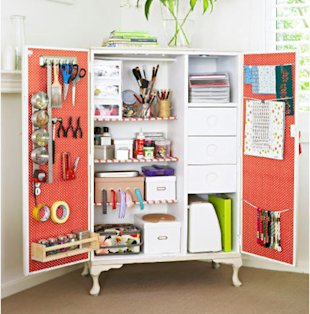 10 clever ways to organize creative supplies