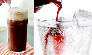 Use homemade syrups to make classic egg creams as well as flavored sodas.