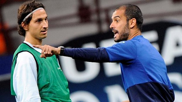 Guardiola Ibrahimovic