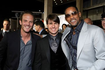 Peter Berg ,  Tom Cruise and Will Smith at the AFI Fest opening night gala presentaion of United Artists' Lions for Lambs