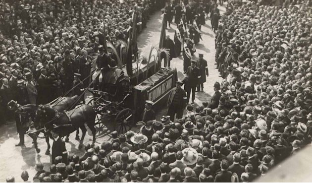 100 years since funeral of William Booth