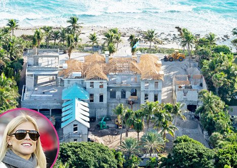 PICTURE: See Elin Nordegren's New Beachfront Florida Mansion