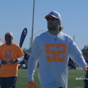 NFL Fan Pass: Clay Matthews at Pro Bowl practice