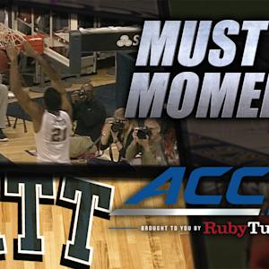 Pitt Beautiful Alley-Oop from Josh Newkirk to Sheldon Jeter | ACC Must See Moment