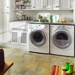 Organizing your laundry room.