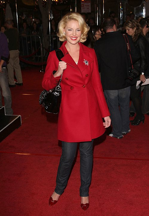 Marley and Me Premiere 2008 Katherine Heigl