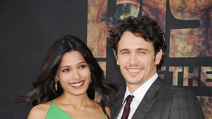 Rise of the Planet of the Apes 2011 LA Premiere Freida Pinto James Franco