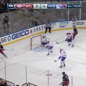 Dustin Tokarski Save on Derek Stepan (09:39/3rd)