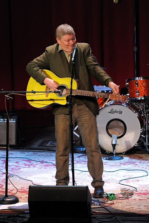 Dave Foley performs at Wizards & Stars: A Musical Literary Event at Largo on March 24, 2011 in Los Angeles, California.