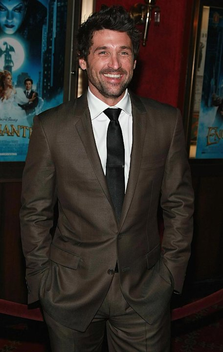 "Patrick Dempsey arrives at the ""Enchanted"" New York City Premiere."