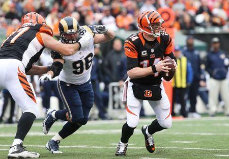 Bengals rout Rams to avoid three-game skid