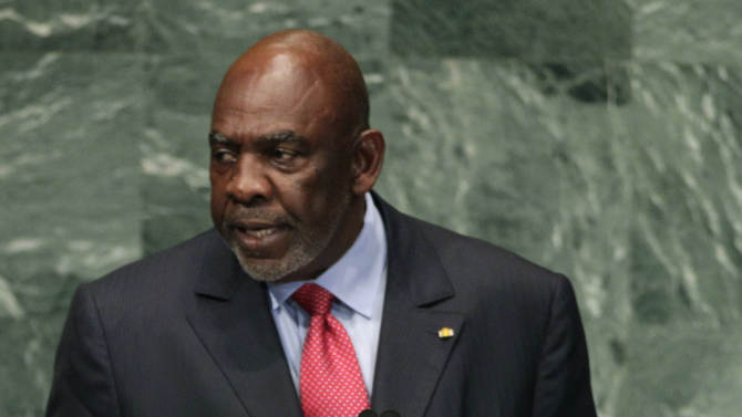 FILE - In this Sept. 26, 2012 file photo, Mali Prime Minister Cheick Modibo Diarra addresses the 67th session of the United Nations General Assembly at U.N. headquarters in New York. A policy officer and an intelligence official have confirmed that Mali's prime minister was arrested at his home late on Monday, Dec. 10, 2012, by the soldiers who helped lead a recent coup. For several weeks, tension has been mounting between the soldiers who led Mali's March 21 coup and Diarra, the civilian prime minister they were forced to appoint when they handed back power to a transitional government.(AP Photo/Frank Franklin II, File)