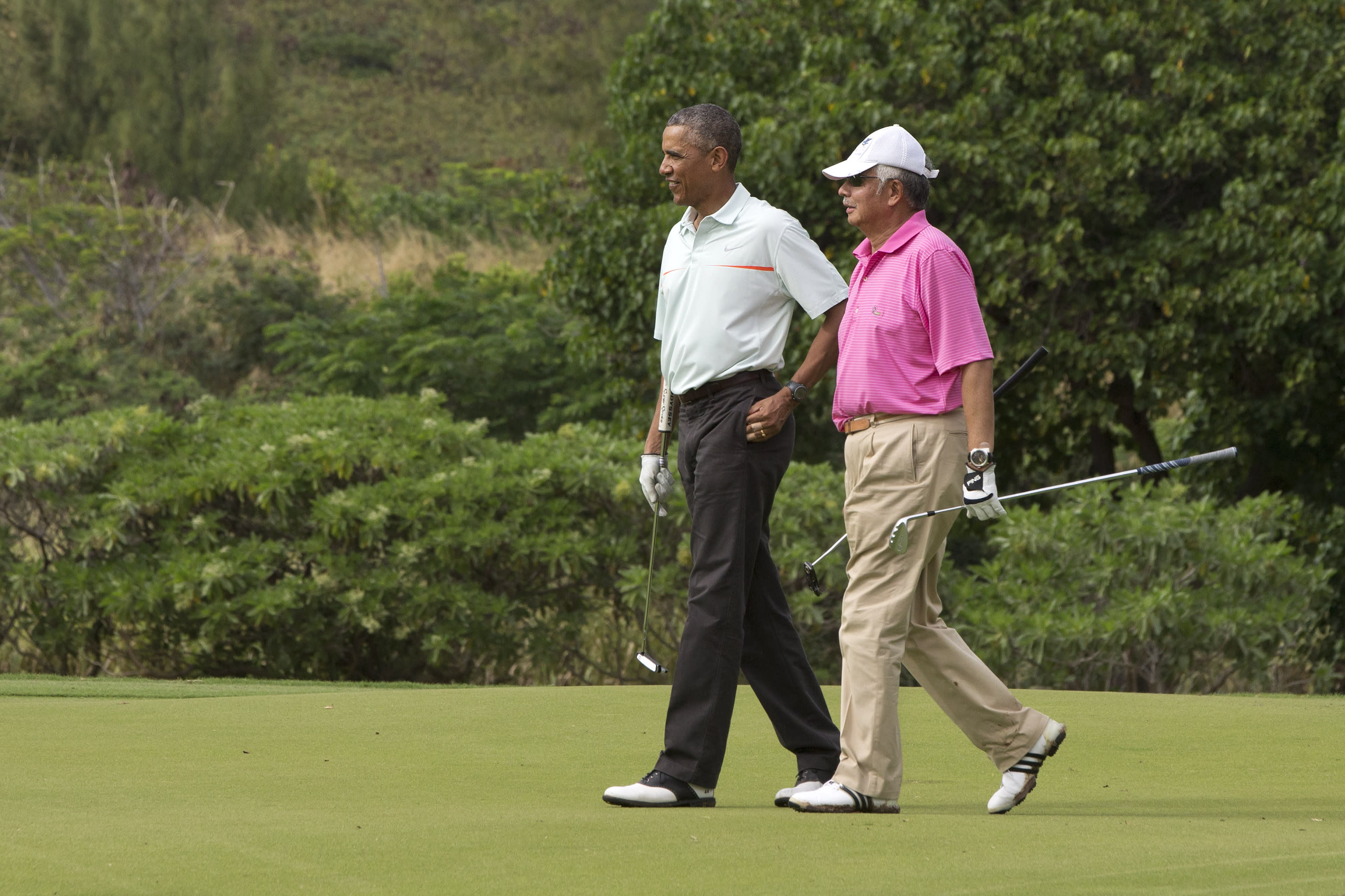 President Obama's Hawaii vacation: Day 5