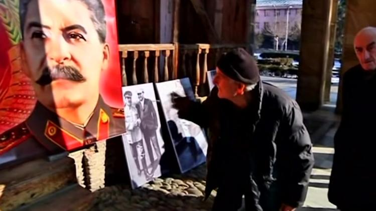 Georgians mark Soviet dictator Josef Stalin's birthday