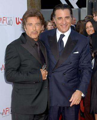Al Pacino and Andy Garcia Al Pacino Honored with 35th Annual AFI Life Achievement Award