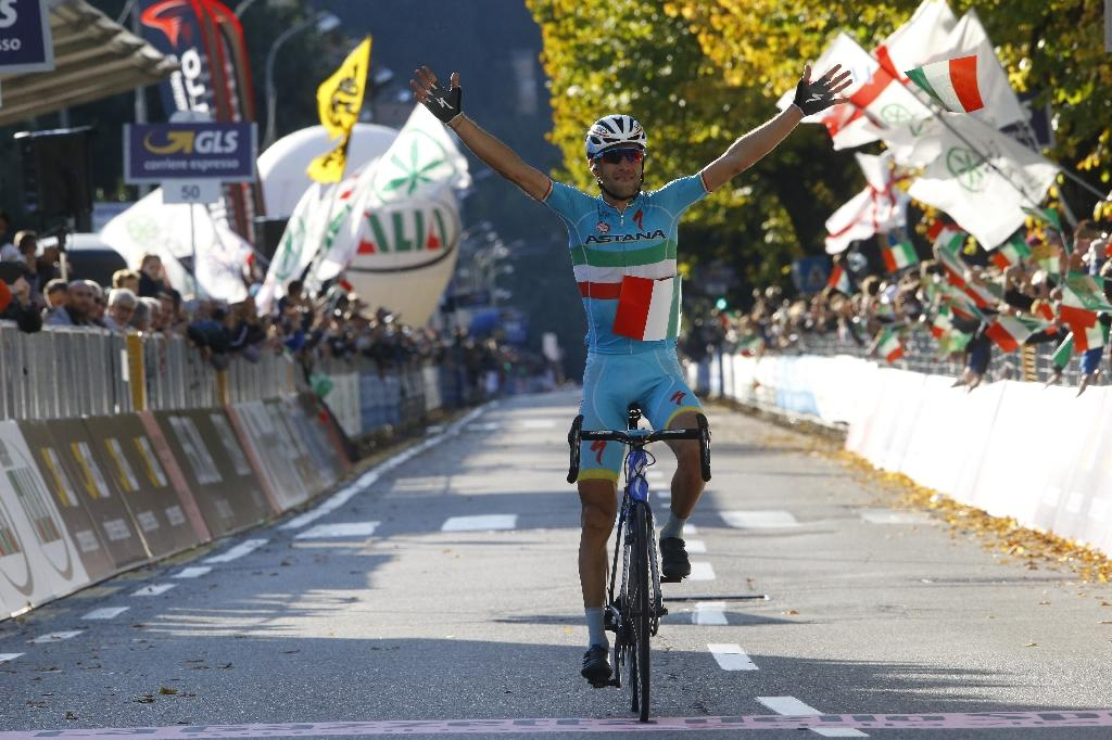 Cycling: Italy's Nibali wins Tour of Lombardy