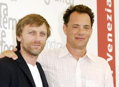"Daniel Craig and Tom Hanks 2002 Venice Film Festival - ""Road To Perdition"" Photocall Casino Venice Lido,  Italy August 31, 2002 Photo by Jeff Vespa/WireImage.com  To license this image (590889), contact WireImage: +1 212-686-8900 (tel) +1 212-686-8901 (fax) sales@wireimage.com (e-mail) www.wireimage.com (web site) Tom Hanks"