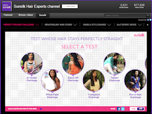 18 Of The Coolest Indian Social Media Campaigns Of Quarter 1 2013 image Sunsilk hair experts Youtube channel