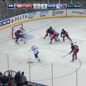 Henrik Lundqvist Save on Alexei Emelin (01:19/2nd)