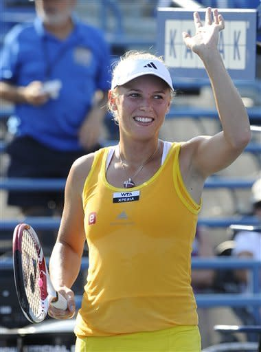 Wozniacki remains undefeated in New Haven