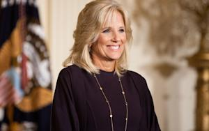 Jill Biden Looks at Pictures; Orszag Axes Stein
