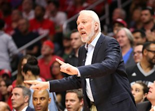 Gregg Popovich was an assistant on Larry Brown's staff during the 2004 Olympics. (Getty Images)