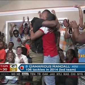 Green Bay Packers pick safety Damarious Randall No. 30 in 2015 NFL Draft