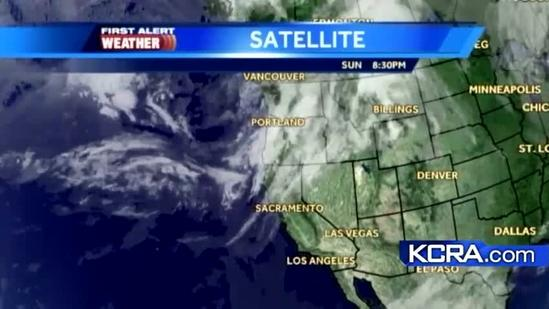 Monday Weather Update for Northern California 10.15