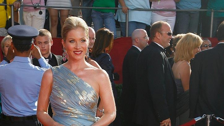 "Christina Applegate (""Samantha Who?"") on the red carpet at the 60th Annual Primetime Emmy Awards."