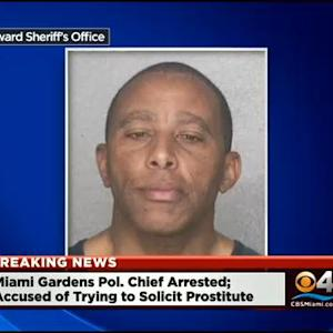 Miami Gardens Police Chief Arrested For Allegedly Soliciting A Prostitute