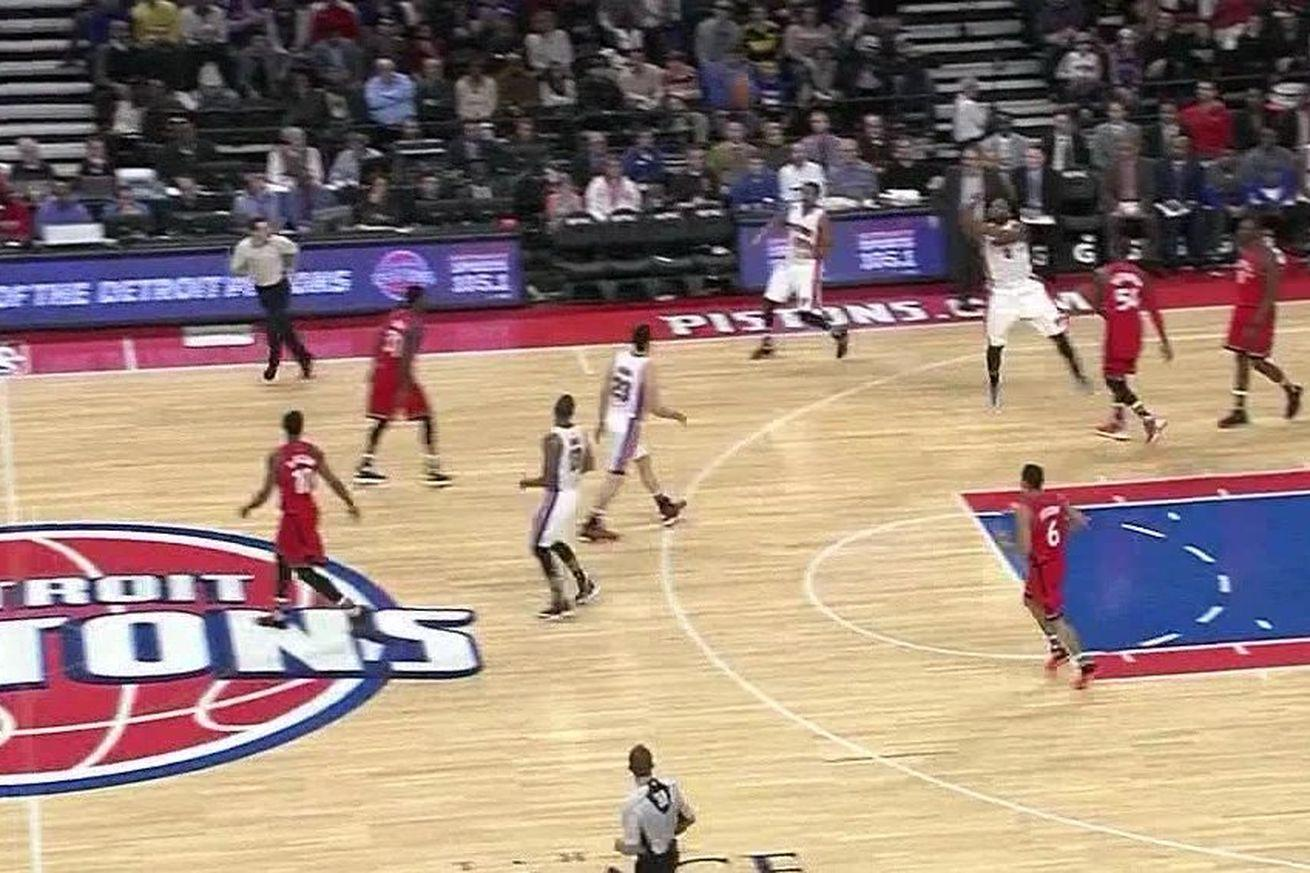 Andre Drummond can't hit free throws, but he can drill 70-footers
