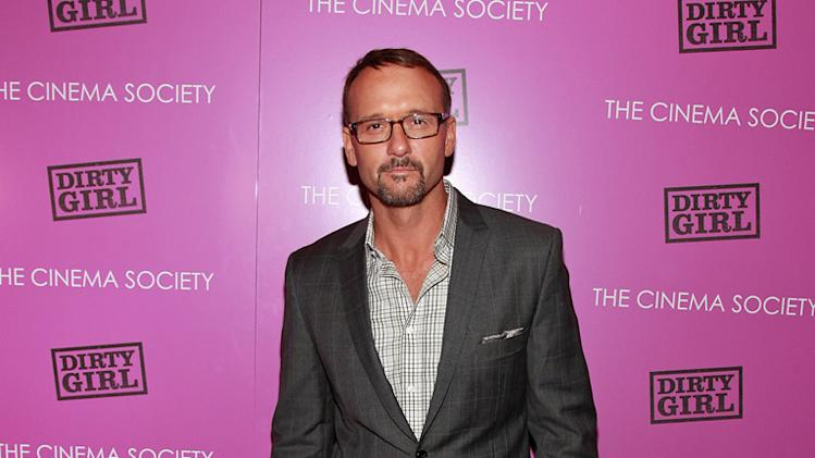 Dirty Girl NY Screening 2011 Tim McGraw