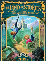 "La portada de la novela infantil de Chris Colfer ""The Land of Stories: The Wishing Spell"" en una fotografía proporcionada por Little Brown & Co. La novela de Colfer está a la venta en Estados Unidos. (Foto AP/Little Brown & Co. Children's Books)"