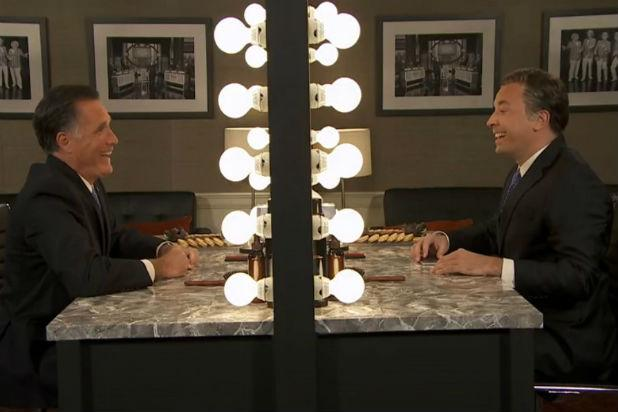 Mitt Romney Reveals Why He Isn't Running for President in Face-Off With Jimmy Fallon (Video)