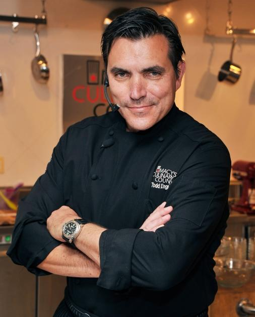 Celebrity chef Todd English visits Macy's Herald Square on July 2, 2012 in New York City -- Getty Images