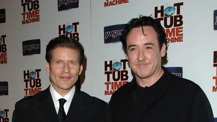 Hot Tub Time Machine LA Premiere 2010 Crispin Glover John Cusack