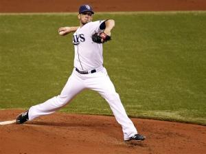 Shields stellar as Rays beat Toronto 4-1