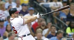 Uggla's 3-run HR helps Braves beat Padres, 6-1