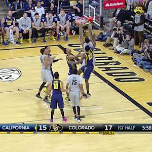 Highlights: Colorado men's basketball rallies past Cal